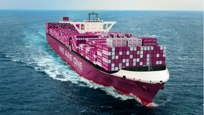 ONE to build world's largest container ships